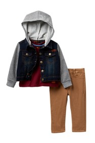 7 For All Mankind Mixed Media Jacket