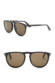 GUCCI 53mm Rounded Sunglasses