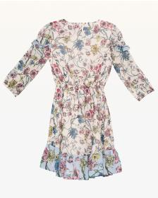 Juicy Couture Mixed Floral Georgette Dress for Gir