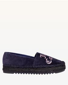 Juicy Couture Regal Yolanda Velvet Espadrille