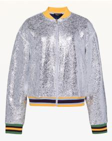 Juicy Couture Juicy Forever Crackle Foil Bomber Ja