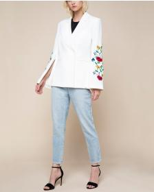 Juicy Couture Embroidered Double Breasted Jacket