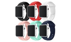Waloo Silicone Sport Band for Apple Watch Series 1