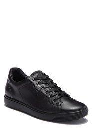 ECCO Soft 7 Long Lace Perforated Sneaker (Women)