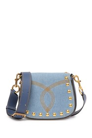 Marc Jacobs Denim Small Nomad Crossbody Bag