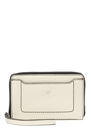 Marc Jacobs Leather Zip Phone Wristlet Wallet