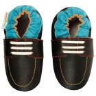 Boys Soft Sole Leather Shoes - Boat Shoe