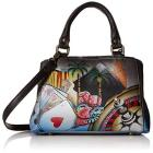 Anuschka Anna Hand Painted Leather Women'S Small M