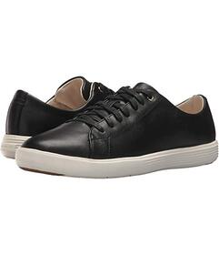 Cole Haan Black Leather/White