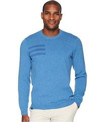 adidas Golf 3-Stripes Crew Neck Sweater