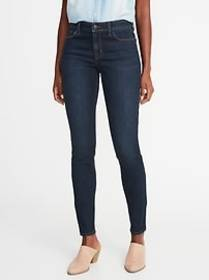 Mid-Rise Skinny Jeans for Women