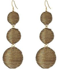 Kenneth Jay Lane 3 Gold Thread Small to Large Wrap