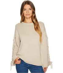 See by Chloe Lace-Up Sleeves Sweater