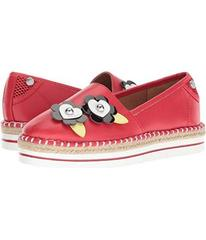LOVE Moschino Faux Leather Espadrille