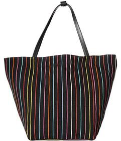 Elizabeth and James Blanket Stripe Teller Tote