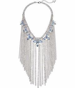 GUESS Dramatic Stone Cluster and Fringe Chain Stat