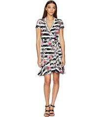 Nicole Miller Claudette Wrap Dress