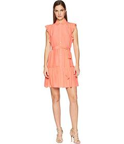 Kate Spade New York Ruffle Sleeve Dress
