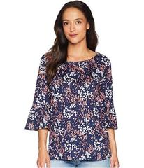 MICHAEL Michael Kors Scatter Blooms Cotton Peasant