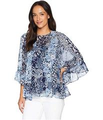 MICHAEL Michael Kors Patchwork Flowers Top