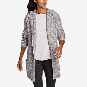 Women's Hooded Sleep Cardigan