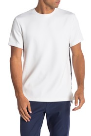 Karl Lagerfeld Active Stripe Short Sleeve Crew Nec