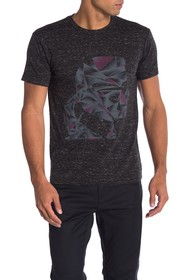 Karl Lagerfeld Karl Head Abstract Graphic Tee