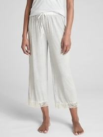Dreamwell Lace-Trim Pants in Modal