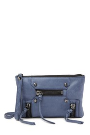 Botkier Logan Convertible Suede Crossbody Bag