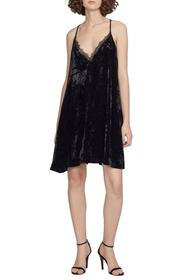 French Connection Lorraine Velvet Slipdress