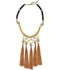 Lucky Brand Silk Cord Statement Necklace