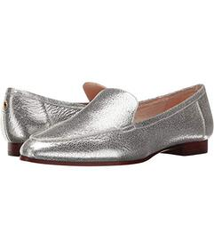 Kate Spade New York Silver Crackle Metallic Nappa