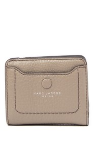Marc Jacobs Empire City Mini Compact Leather Coin