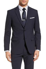 Theory Wellar New Tailor 1 Trim Fit Stretch Wool S
