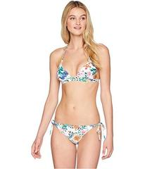 Roxy Print Strappy Love Reversible Fixed Triangle