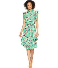 LAUREN Ralph Lauren Floral Crepe Sleeveless Dress