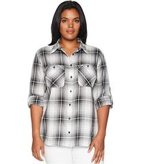 LAUREN Ralph Lauren Plus Size Plaid Button Down Sh