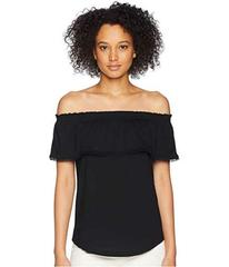 LAUREN Ralph Lauren Off the Shoulder Jersey Top