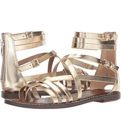 Sam Edelman Molten Gold Foiled Metallic Leather