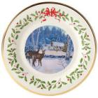 Lenox® 2018 Holiday Plate - Cabin Forest