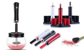 Professional Makeup Brush Cleaner and Dryer Set (1
