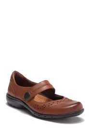 Rockport Perforated Leather Mary Jane Flat - Wide