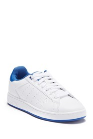 K-Swiss Clean Court Leather Sneaker (Big Kid)