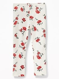 Printed Leggings for Toddler Girls