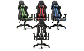 Executive Racing Style High Back Reclining Chair G
