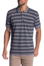 Ben Sherman Pique Striped Polo