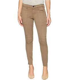 J Brand Skinny Utility Jeans in Brown Sugar