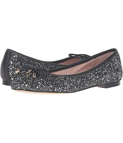 Kate Spade New York Black/Silver Glitter
