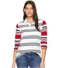 CHAPS Rugby Jersey Long Sleeve Knit