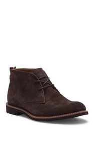 Tommy Hilfiger Gervis Suede Lace-Up Boot